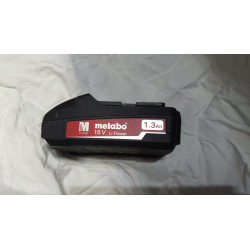 METABO battery 18 v 1.3 Ah